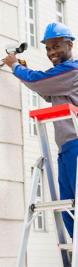 Des installations sécurité réalisées par des techniciens expériementés