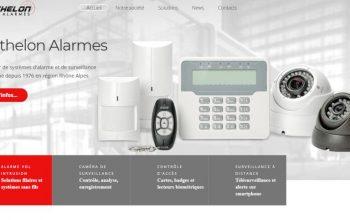 Nouveau site internet de berthelon alarmes à chambéry barberaz
