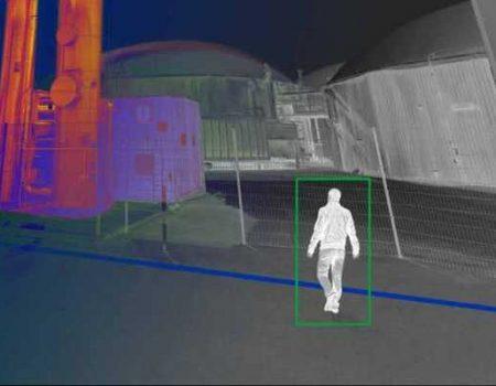 Détection vidéo des mouvements d'individus par caméra thermique
