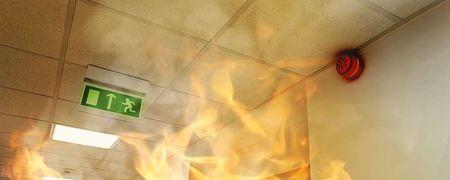 Diffusion de message pour évacuation en cas d'incendie
