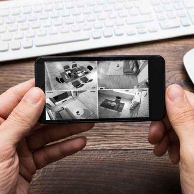 surveillance temps réel de vos locaux avec vidéosurveillance sur smartphone